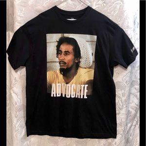 Zion Rootswear Bob Marley Black Tee XL